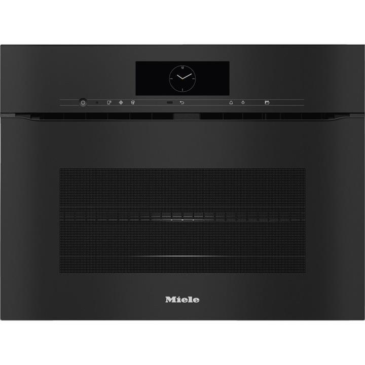 Image of Miele ArtLine Obsidian BlackHandleless Speed Oven