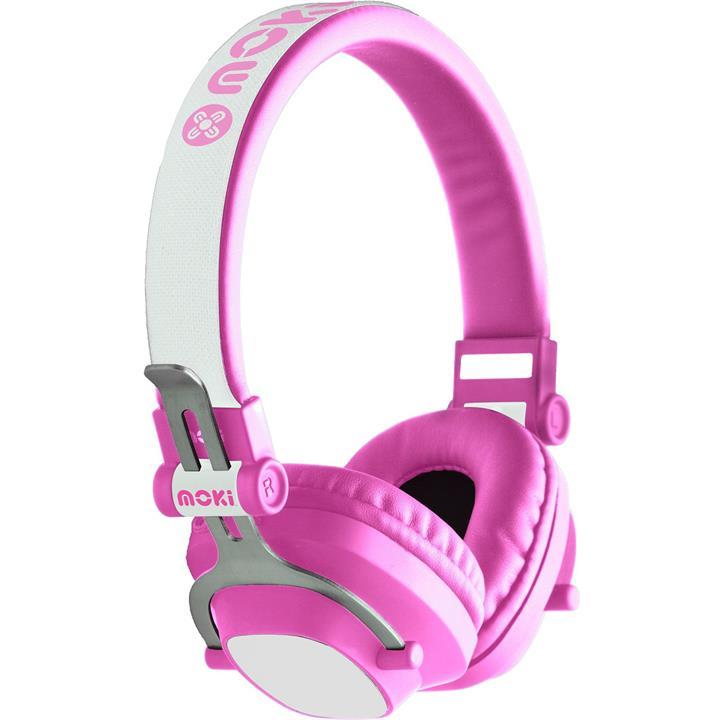 Image of Moki EXO Kids Bluetooth HeadphonesPink