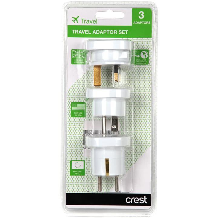 Image of Crest Travel Adaptor Set
