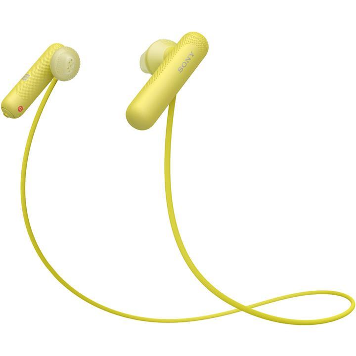 Image of Sony Wireless In-ear Sports HeadphonesYellow