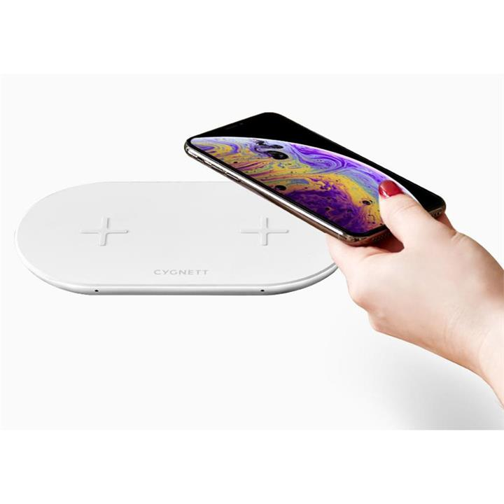 Image of Cygnett 20W Dual Wireless Charger
