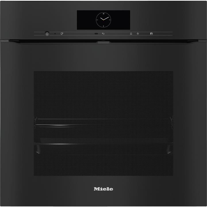 Image of Miele ArtLine Obsidian Black60cm Wide Pyrolytic Handless Oven