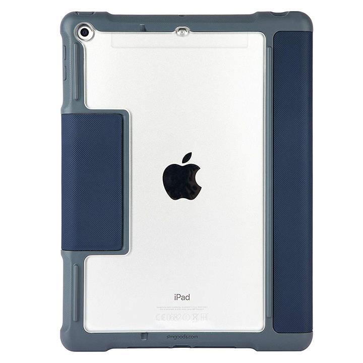 Image of STM Dux Plus iPad 5th/6th Gen Case with Apple Pencil StorageBlue