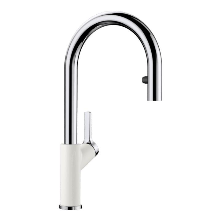 Image of Blanco Goose Neck Pull Out Tap