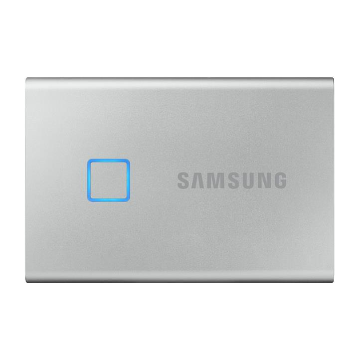 Image of Samsung 500GB T7 Touch Portable SSDSilver/WW