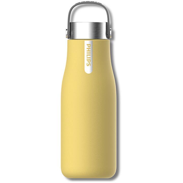 Image of Philips GoZero Smart UV Hydration BottleSunshine Yellow