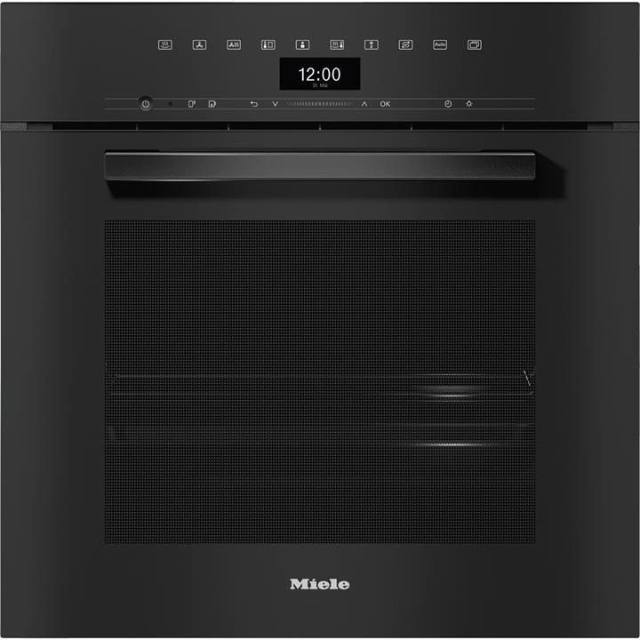 Image of Miele VitroLine Obsidian Black60cm Combi Steam Oven