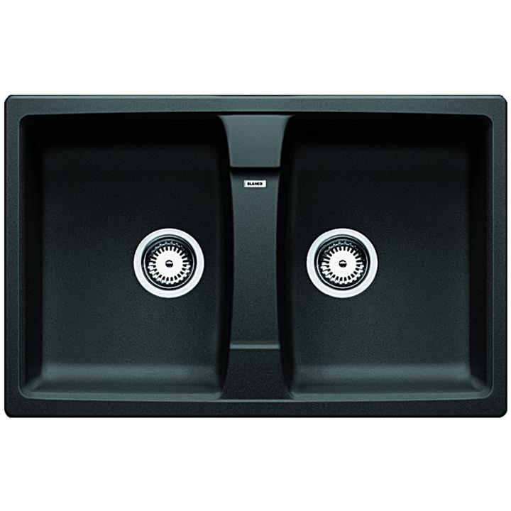 Image of Blanco Double bowl Inset Sink