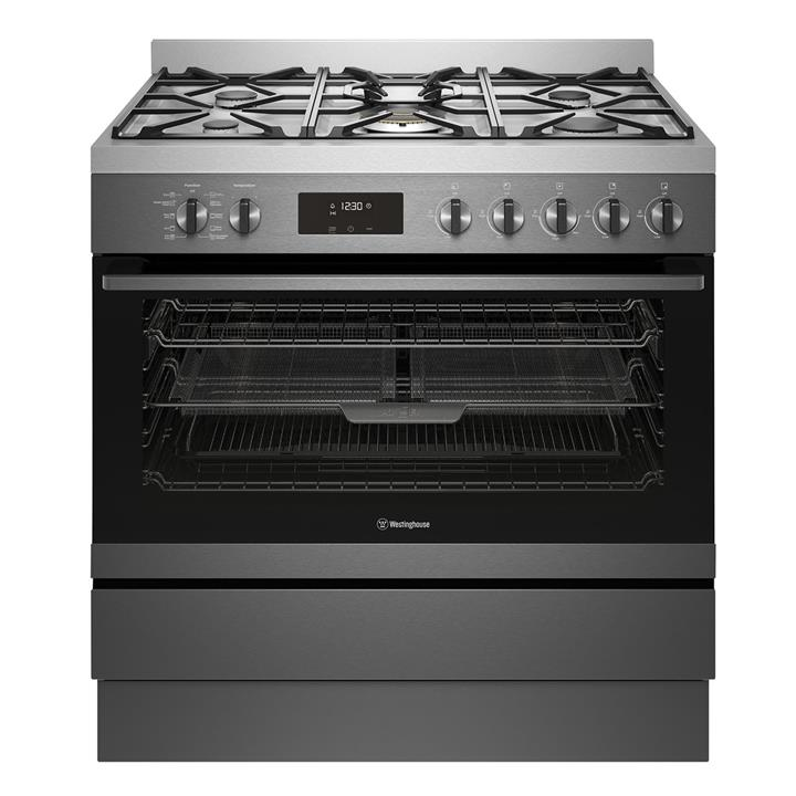 Image of Westinghouse 90cm Dual Fuel Pyrolitic Freestanding Cooker