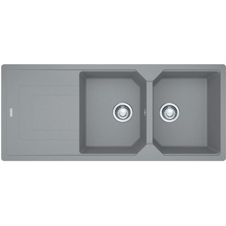 Image of Franke Urban Fragranite Double Bowl SinkStone Grey