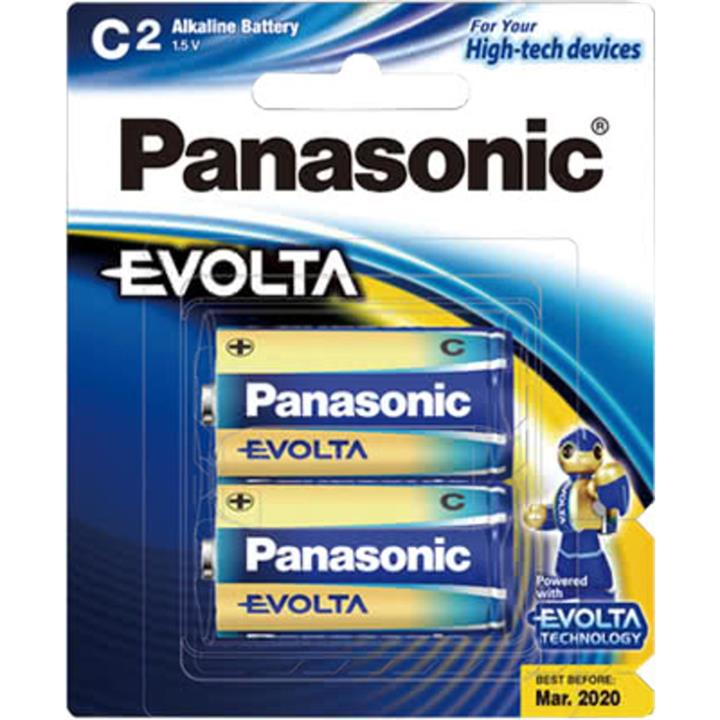 Image of Panasonic EVOLTA C 2pk