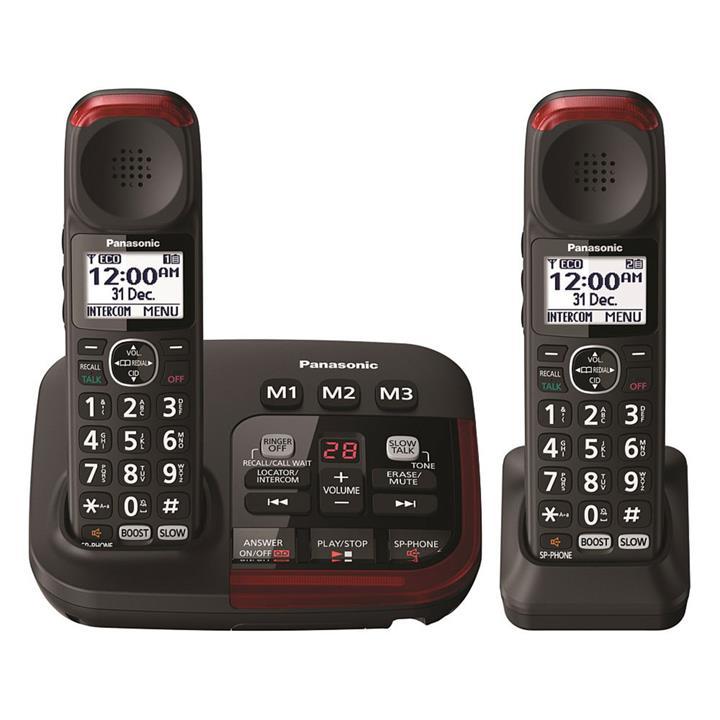 Image of Panasonic Amplified Cordless TelephoneTwin