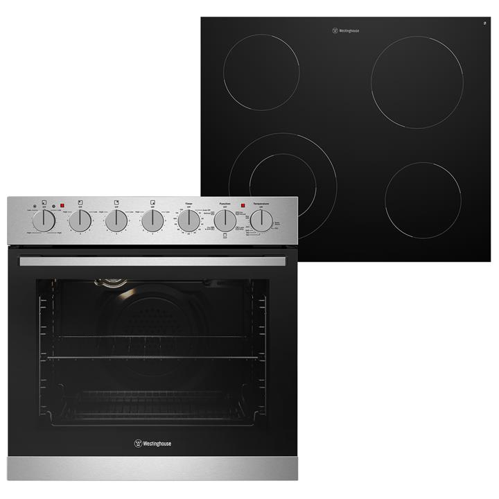 Image of Westinghouse 60cm Combination Oven/Cooktop