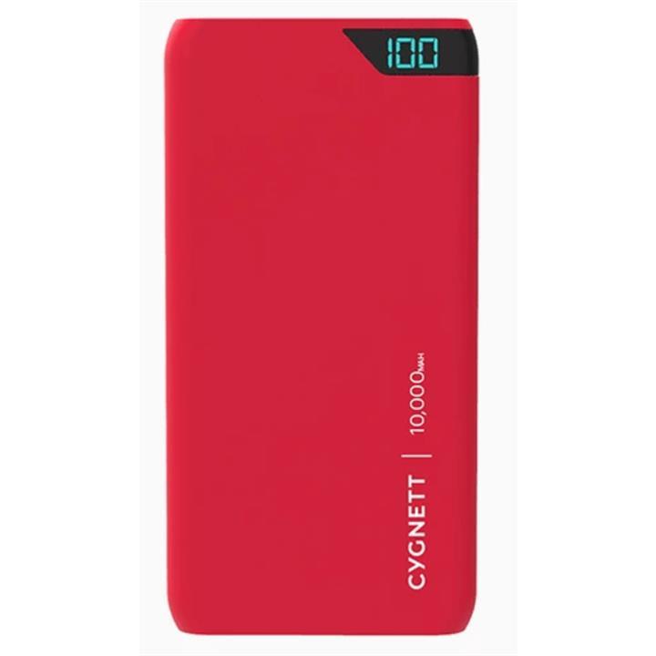 Image of Cygnett 10,000mAh Portable Power Bank in Red
