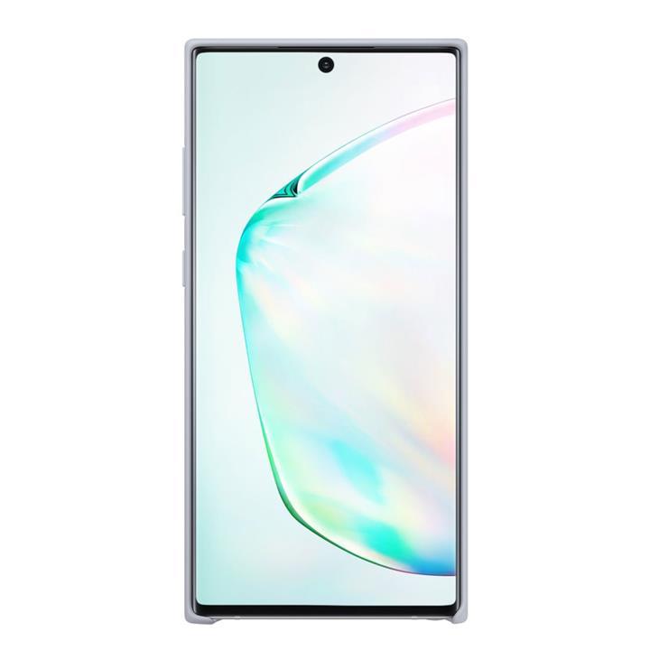 Image of Samsung NOTE 10+ SILICON COVER SILV