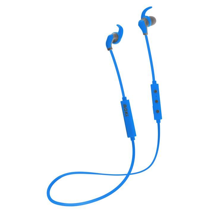 Image of Moki Hybrid Bluetooth EarphonesBlue