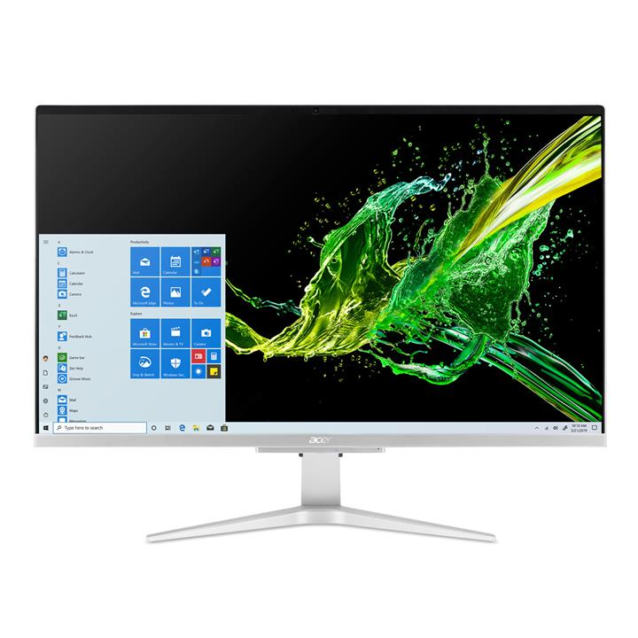"""Image of Acer Intel® 10GI7 1.3GHZ 16GB 1TB SSD 27"""" FHD IPS Aspire C27 All-In-One PC"""