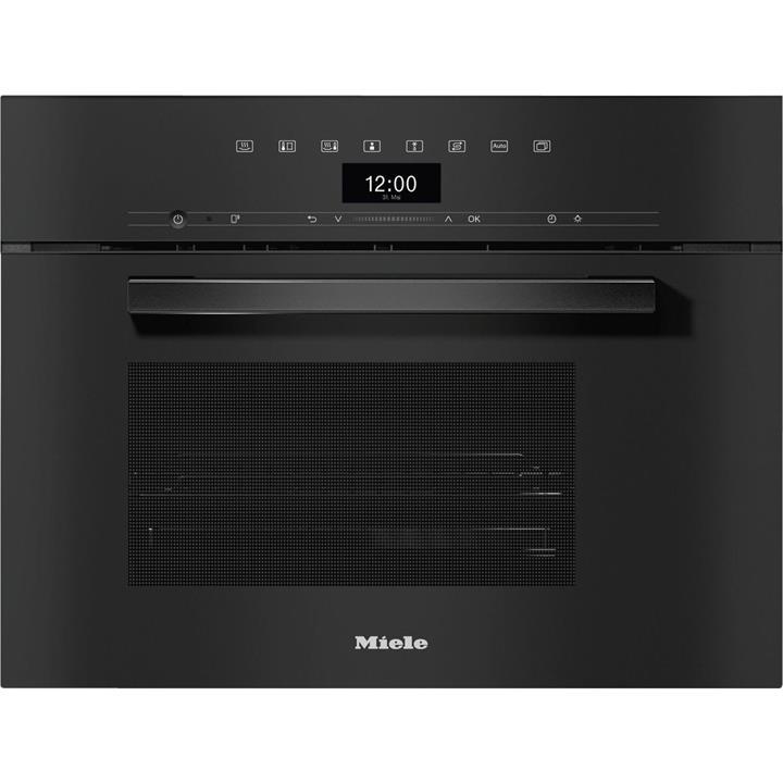 Image of Miele VitroLine Obsidian Black60cm Steam Oven