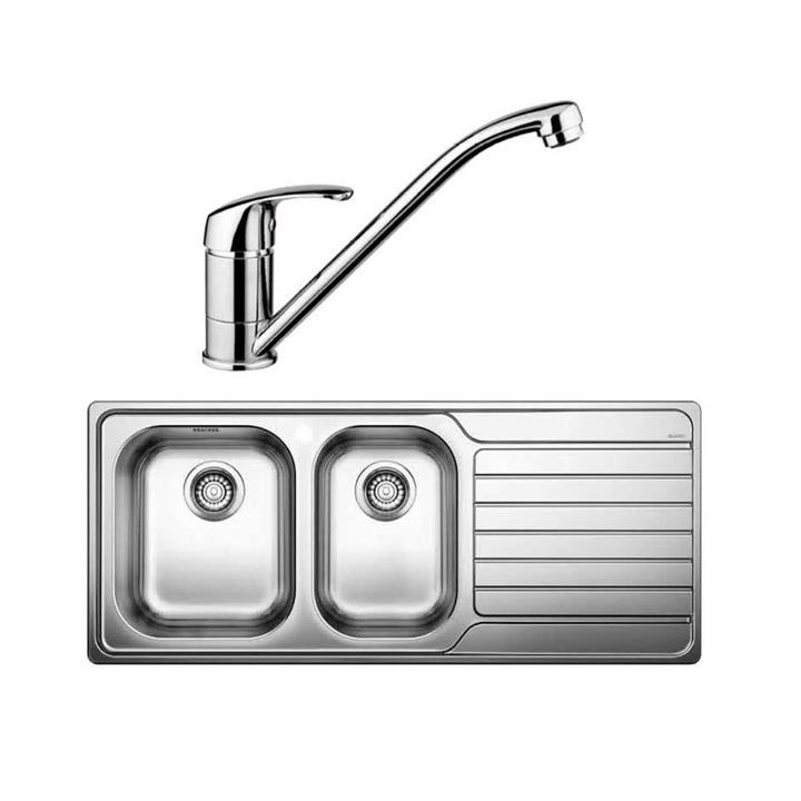 Image of Blanco Sink & Tap Pack