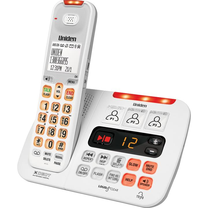 Image of Uniden Sight & Sound Enhanced Cordless Phone