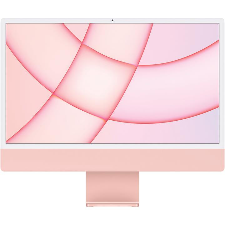 "Image of Apple 24"" iMac M1 7-Core GPU 8GB 256GB SSD Pink"