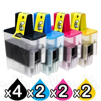 10 Pack Brother Compatible LC-47 Inkjet Combo [4BK,2C,2M,2Y]