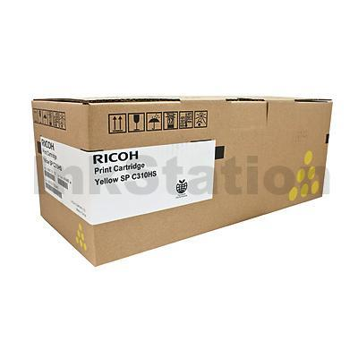 Ricoh 406486 Genuine Yellow Toner Cartridge - 6,000 pages