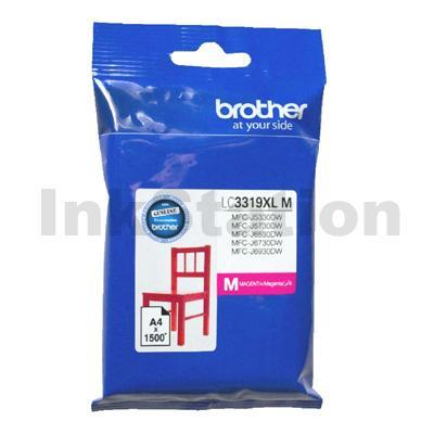 ea61ce1950fe BUY Genuine Brother LC-3319XLM High Yield Magenta Ink Cartridge ...