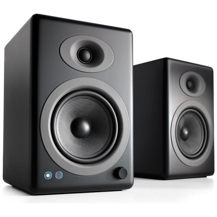 Image of Audioengine 5+ Wireless Bookshelf Desktop Speakers - Black