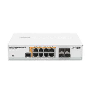 Image of Mikrotik CRS112-8P-4S-IN Switch with POE-out RouterOS L5
