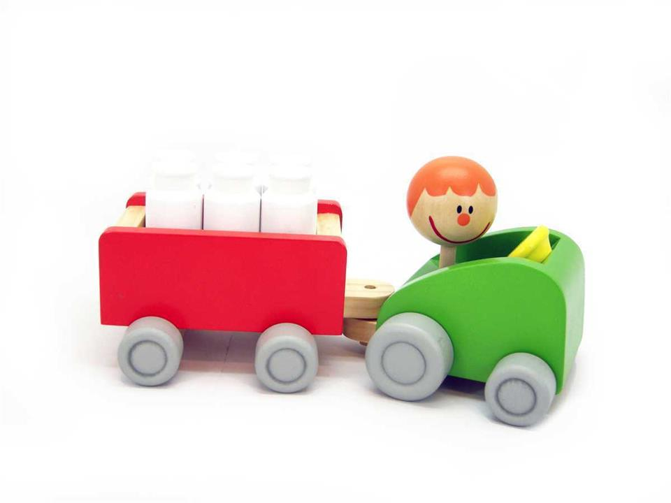 Image of Milk Bottle Bowling Tractor