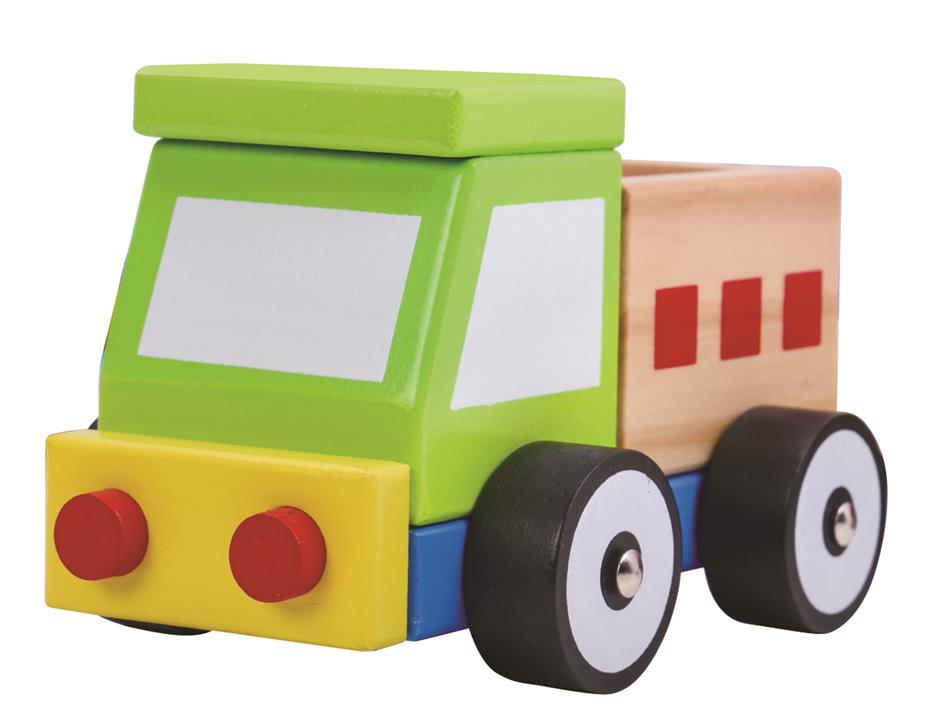 Image of Wooden Block Truck