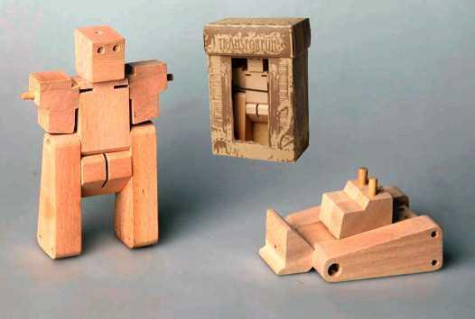 Image of Sm Wooden Transf - Compactor