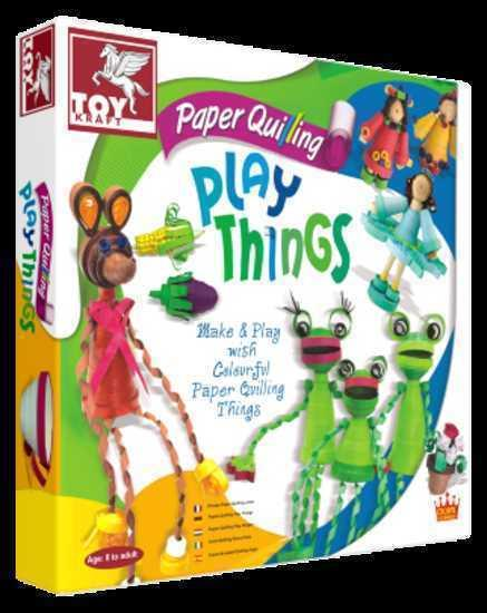 Image of Paper Quilling Play Things
