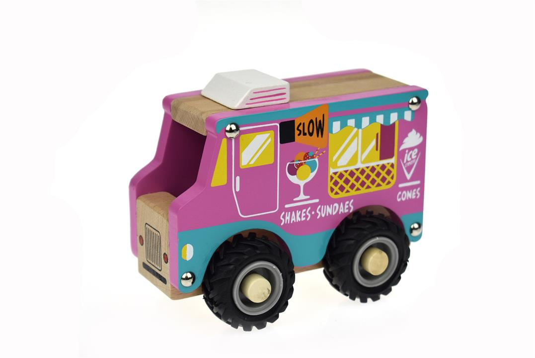 Image of Kd Wooden Ice Cream Truck
