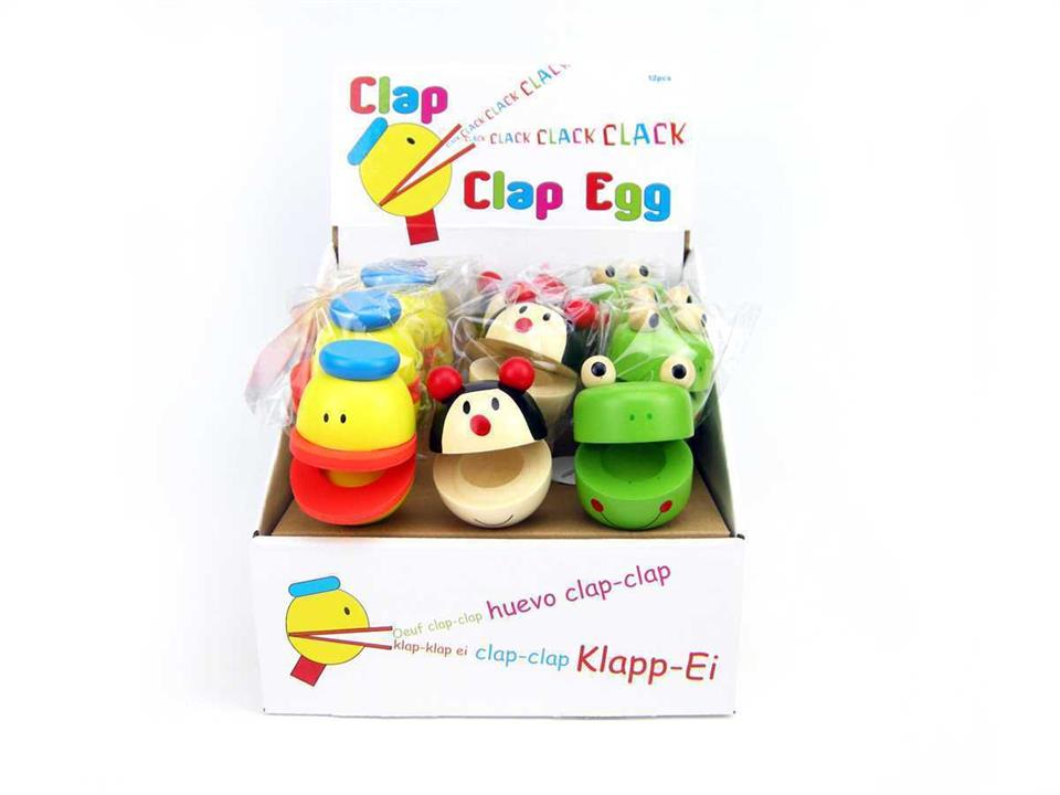 Image of Clap Clap Egg On Stick Animal