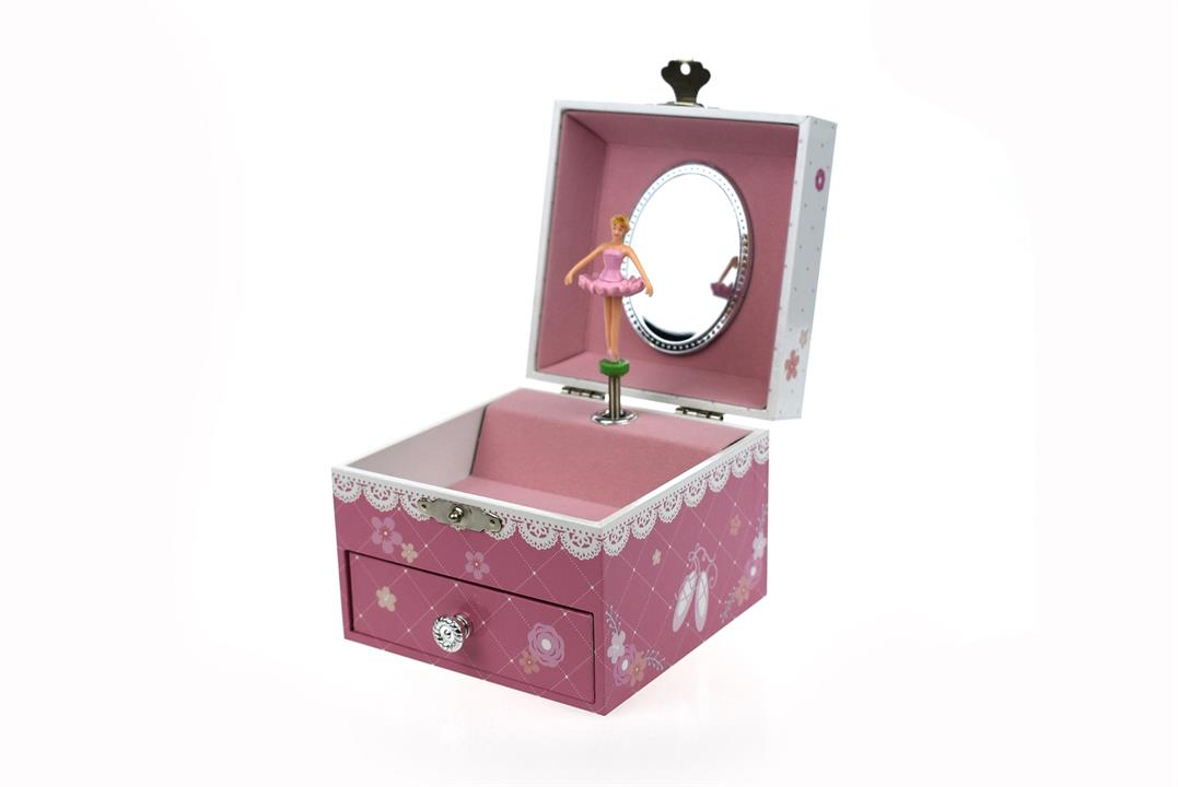 Image of Ballerina Square Music Box