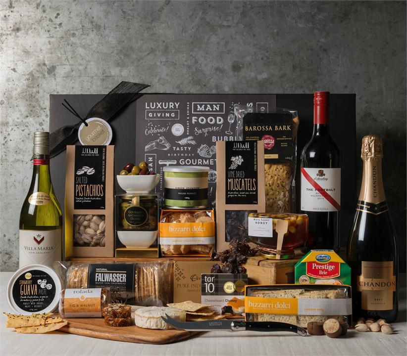 Image of Premium Cheese and Wine Office Share Hamper