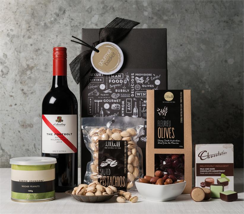 Image of Good Wine and Nibbles Hamper