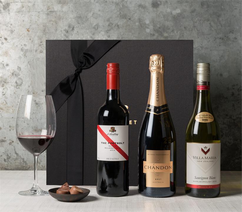 Image of Wine Trio Gift Hamper