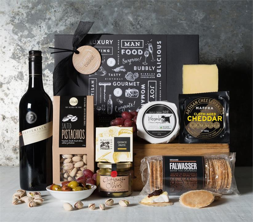 Image of Cabernet Cheese Hamper