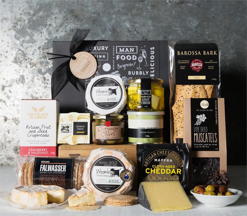 Image of Entertainer Cheese Hamper