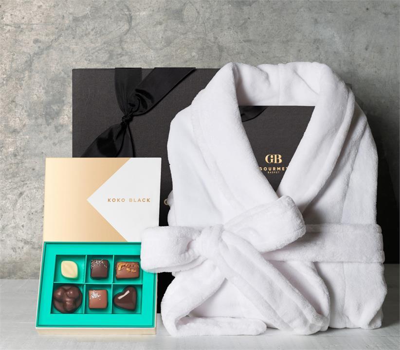 Image of Premium Chocolates with Robe Hamper