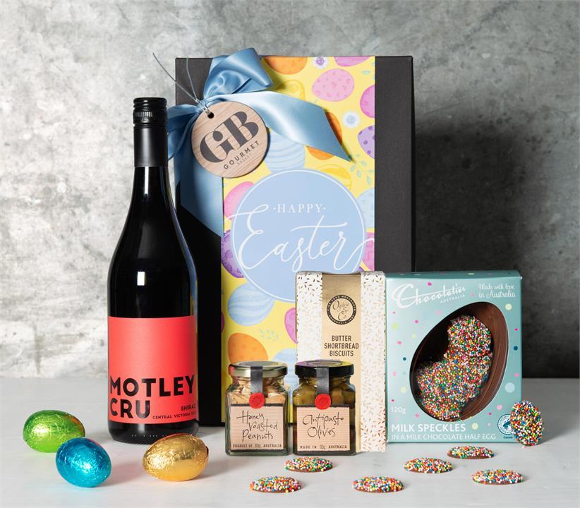 Image of Easter Shiraz & Savoury Hamper