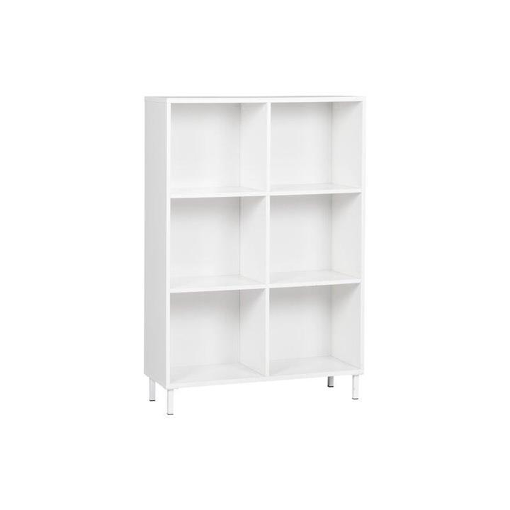 Ashley Collection 6-Cube Display Bookcase - White