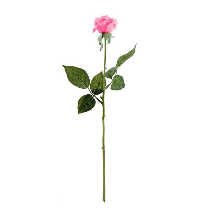 10pcs Artificial Silk Flower Fake Rose Bouquet Table Decor Pink