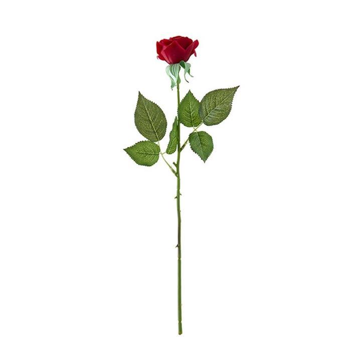 10pcs Artificial Silk Flower Fake Rose Bouquet Table Decor Red