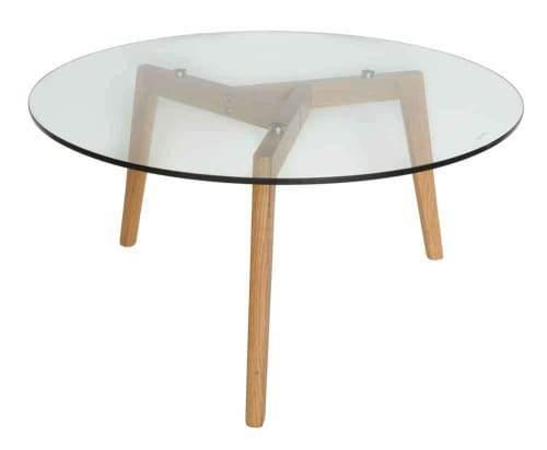 Stad Round Coffee Table - Natural