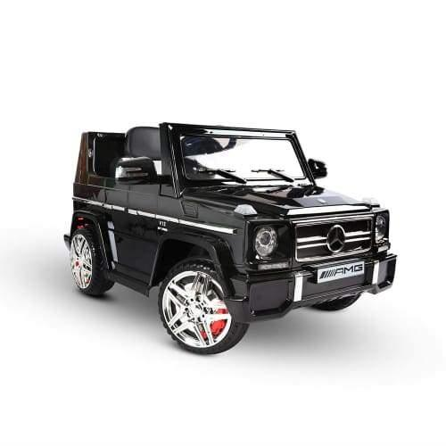 Kids Ride on Mercedes Benz Car w/ Remote Control Black