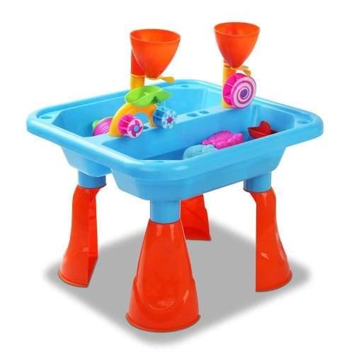 Kids Sand and Water Table Play Set Blue